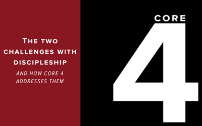 The Two Challenges with Discipleship