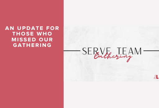 SERVE Team Gathering – Sunday 19 July